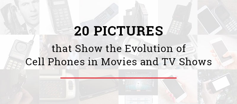 Cell Phones in Movies & TV Shows