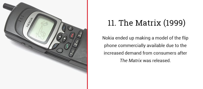 the matrix cell phone