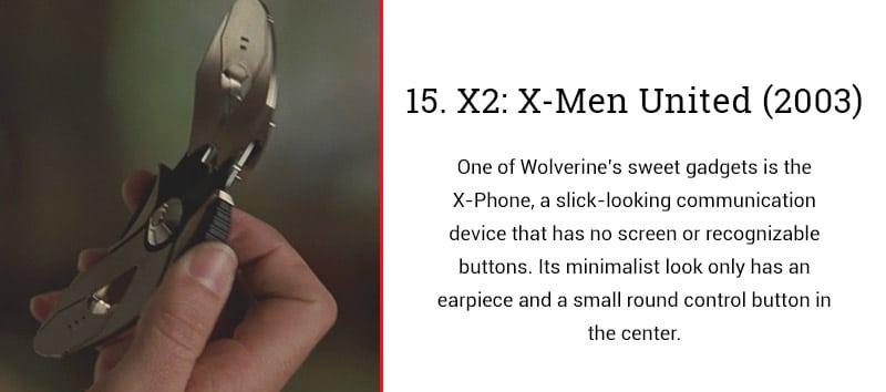 xmen united cell phone