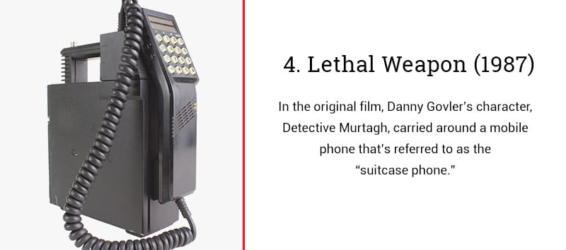 lethal weapon cell phone