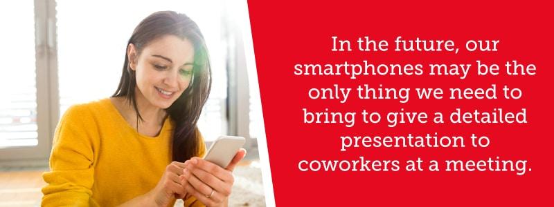Smartphones for Presentations