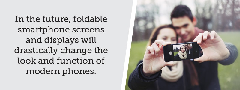 Foldable smartphone screens and displays will change the look and function of modern phones