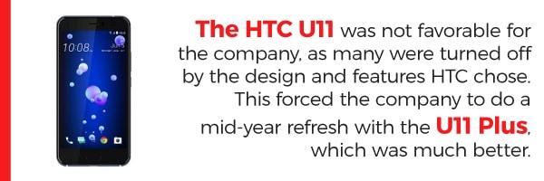 HTC U11 and U12