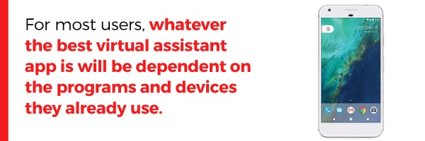 The Best Virtual Assistant App