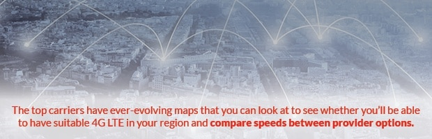 Compare speeds and coverage between providers