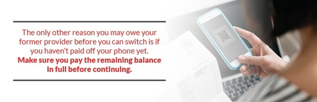 Make Sure To Pay Your Phone Bill Remaining Balance