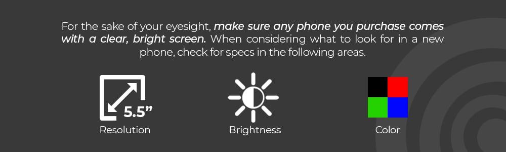 Phone Screen Considerations