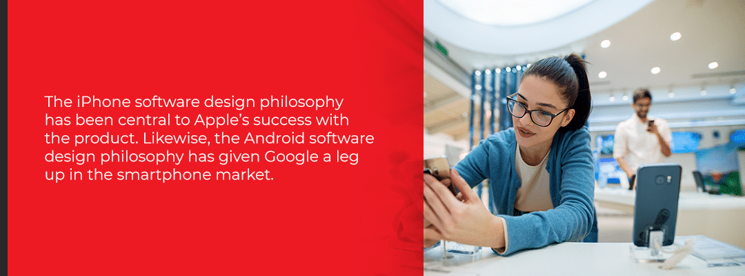 Apple vs. Google Software Design