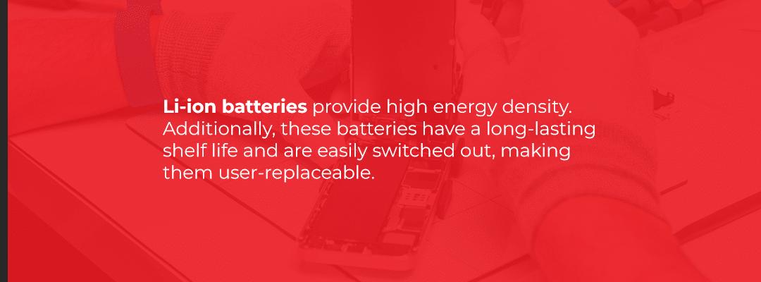 Li-ion batteries vs li-po batteries