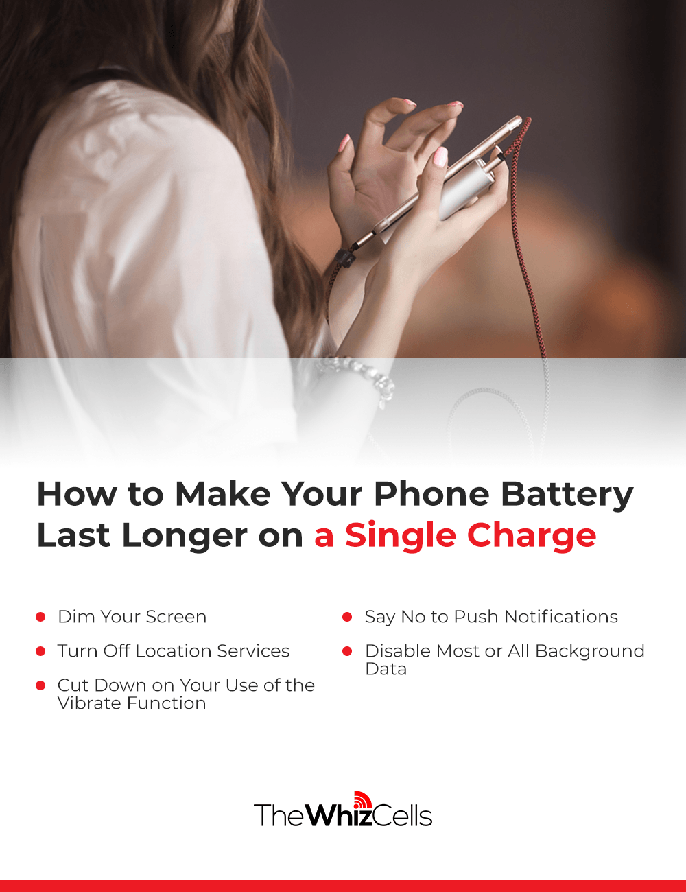 How to Make Your Phone Battery Last Longer on a Single Charge